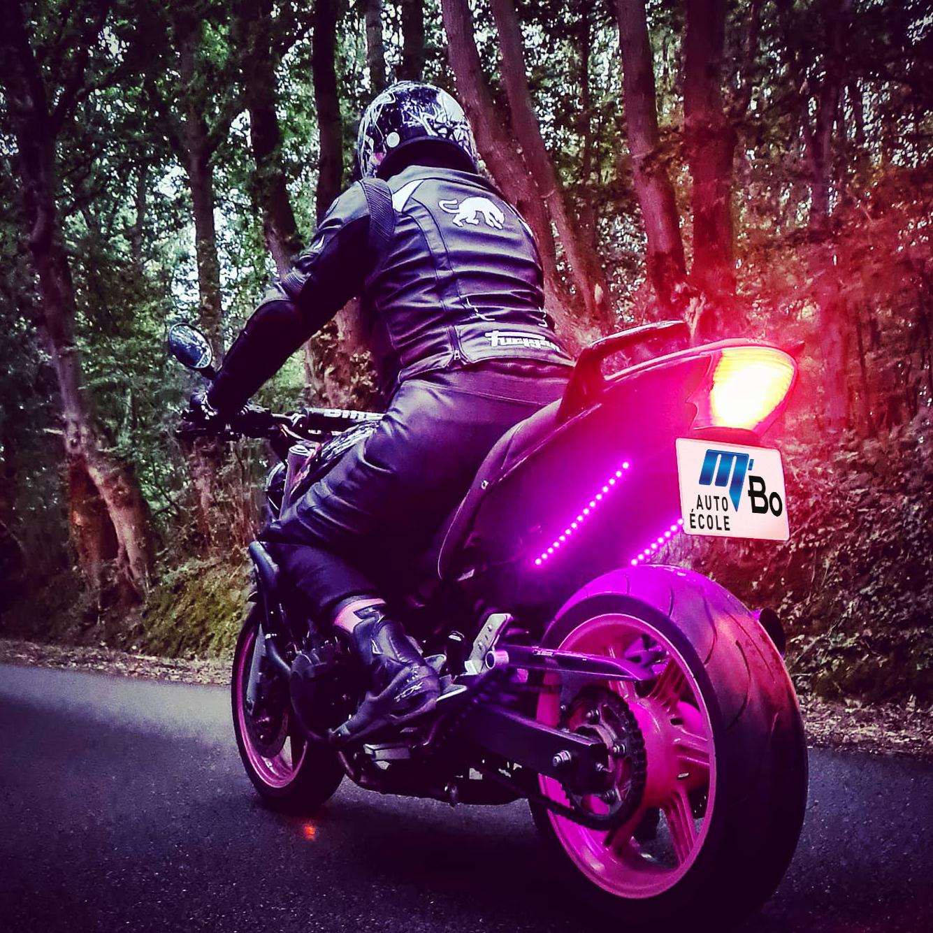 Photo moto retouche