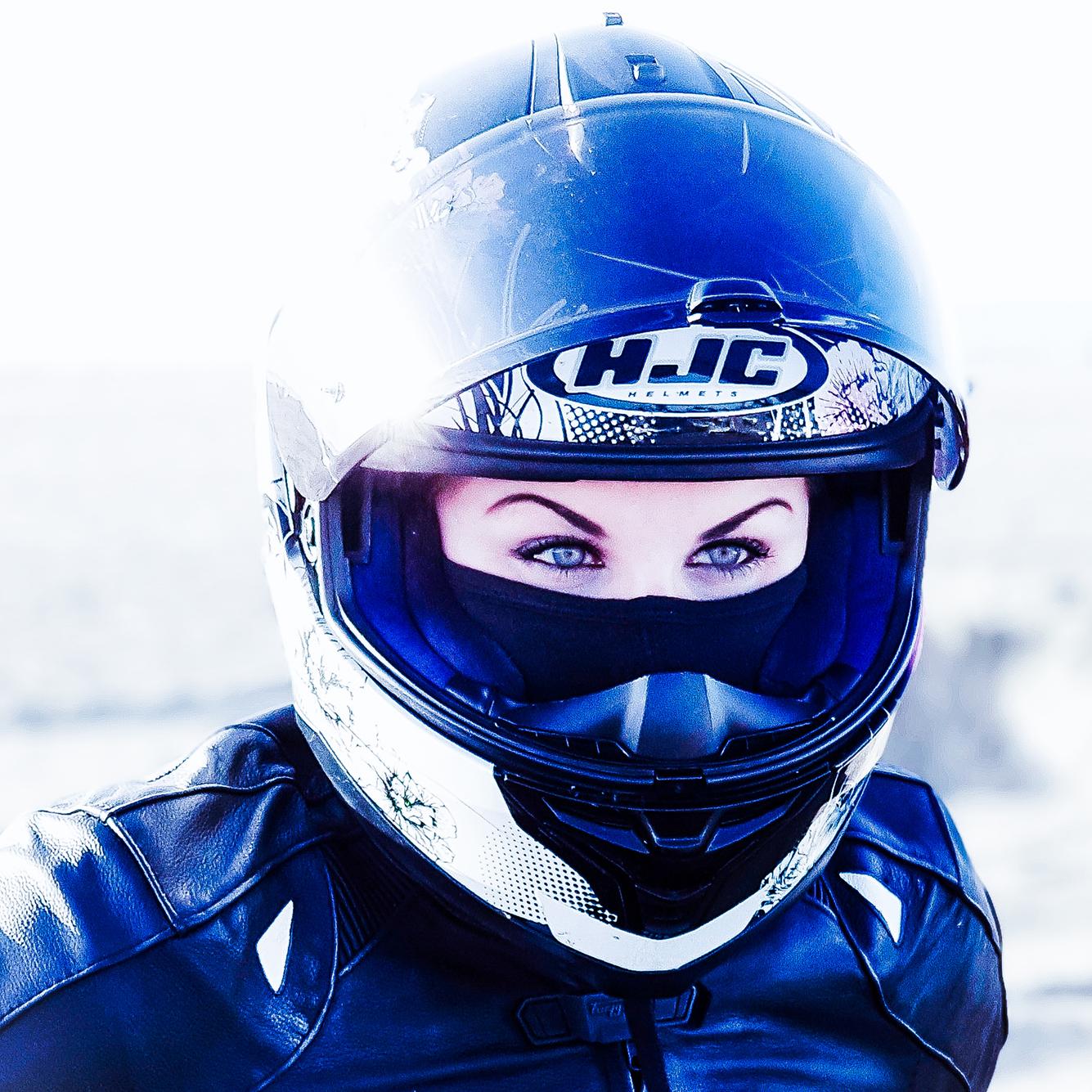 moto femme casque